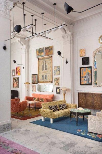 mieszkanie w stylu eklektycznym